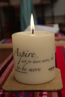 Romero Candle - Day of Reflection Sept 2012 JSC