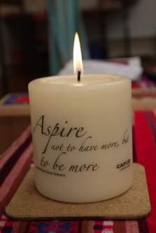 CAFOD Candle