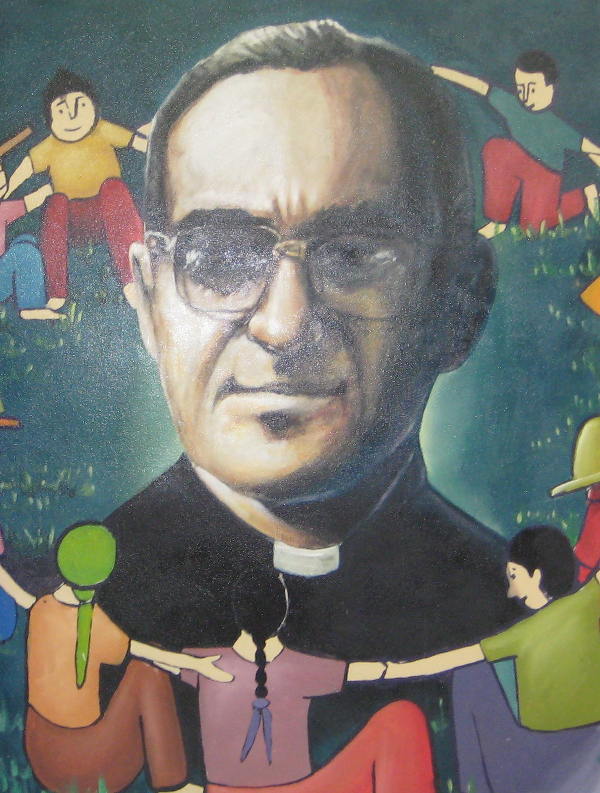 archbishop oscar romero Media caption the shirt oscar romero was wearing when he was killed was displayed as a religious relic the archbishop spoke out against the repression many of his compatriots suffered at.