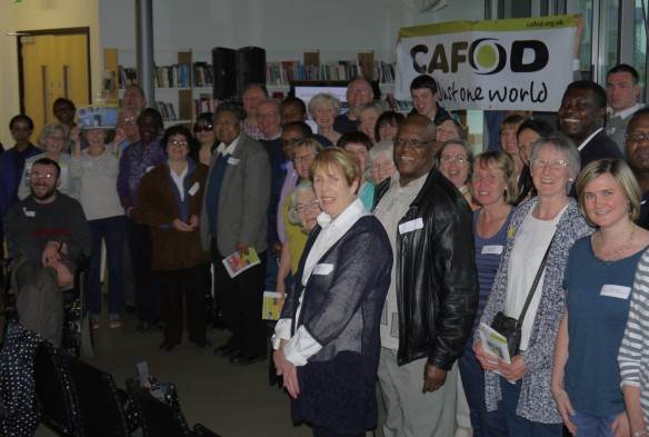 CAFOD volunteers meet Ethiopian representatives