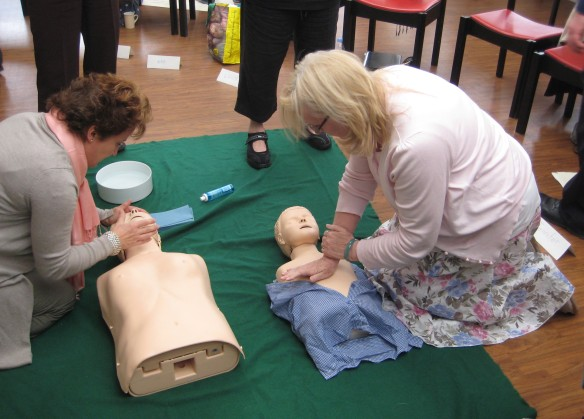 First Aid Course in Aid of CAFOD 006