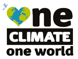 One Climate One World Logo transparent