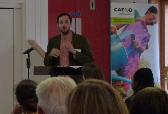 Rob Elsworth, CAFOD's Climate and Energy policy analyst will speak at the event.