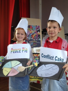 Westminster Schools Volunteer Peace Pie Conflict Cake Brighten up Assemely St Anslems Harrow on the Hill IMG_2994 (2)