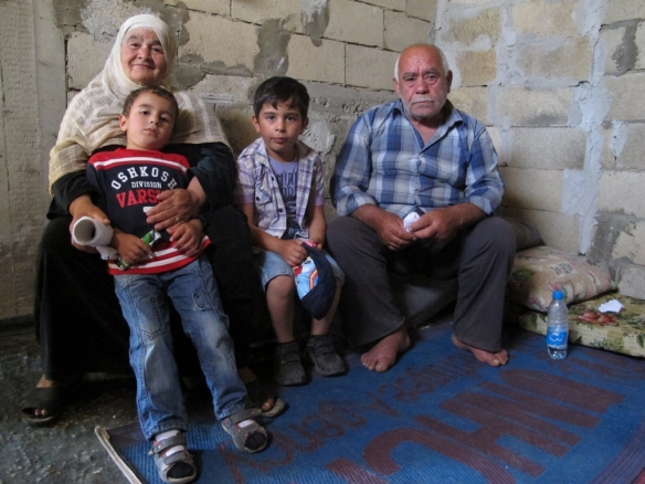 Ahmad and his family - Syrian refugees