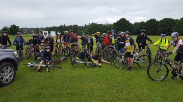 CAFOD Fundraising Bike Ride St Columbas