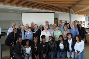 CAFOD Volunteers Laudato Si Year of Mercy Workshop Susy Brouard Paul Whittle