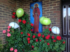 CAFOD Pedal Against Poverty Balloons decoration