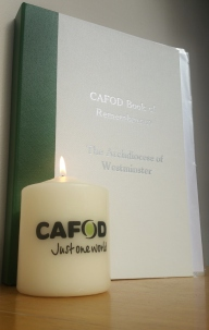 CAFOD Westminster Memorial Mass Book of Remembrance