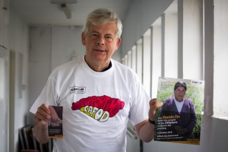 CAFOD Westminster Office Volunteer Richard Hester