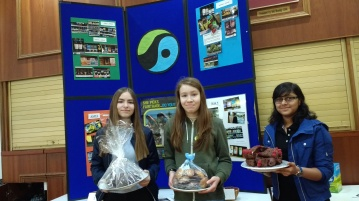 Confirmation Candidates from Our Lady of Mount Carmel and St George in Enfield fundraise for Fairtrade with Bake Off