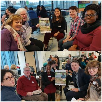 CAFOD Volunteers at our Lent Family Fast Day briefing