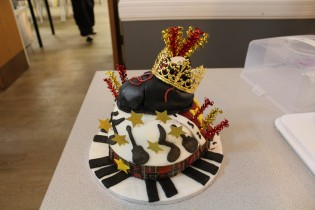 We Will Rock You Cake by St Columbas College