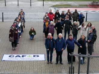 CAFOD campaigners make out a 1.5 at COP24 Laudato Si'